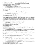 Đề kiểm tra chất lượng môn toán khối B trường THPT chuyên Bỉm Sơn