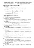 Đề kiểm tra chất lượng môn toán khối B trường THPT chuyên Lam Sơn