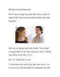 Khi phụ nữ quá thông minh