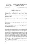 Công văn số 1500/TCT-CS ngày 4/5/2011 của Tổng cục Thuế