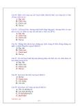 Bài tập trắc nghiệm và đáp án môn Quản trị kinh doanh