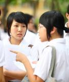 Đề thi thử Đại học môn Văn năm 2011 - Trường THPT Quế Võ số 1