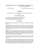 Quyết định số 14-2011QĐ-TTg