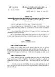 Thông tư số 56 /2011/TT-BTC