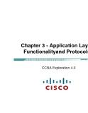 Chương 3 - Lớp ứng dụng giao thức CCNA