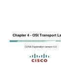 Chương 4 - OSI Transport Layer CCNA