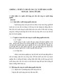 CHƯƠNG 1: CƠ SỞ LÝ LUẬN VỀ CÔNG TÁC TUYỂN DỤNG NGUỒN NHÂN LỰC TRONG TỔ CHỨC