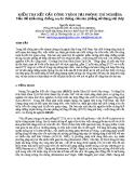 KIỂM TRA KẾT CẤU CÔNG TRÌNH TẠI PHÒNG THÍ NGHIỆM: Vấn đề khả năng chống xuyên thủng của sàn phẳng sử dụng sợi thép