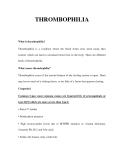 THROMBOPHILI