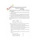 Phương pháp giải toán về aluminum và hợp chất của aluminum