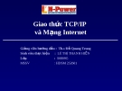 Giao thức TCP/IP và Mạng Internet