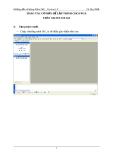THAO TÁC CƠ BẢN ĐỂ LẬP TRÌNH CHO FPGA TRÊN XILINX ISE 8.2i