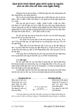 Quá trình hình thành giáo trình quản lý nguồn vốn và vốn chủ sở hữu của ngân hàng p1