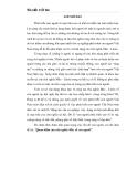 Tiểu luận: Quan điểm của chủ nghĩa Mác về con người