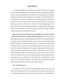 Tiểu luận triết học: Vai trò của con người trong công cuộc CNH - HĐH đất nước