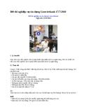 Đề thi nghiệp vụ tín dụng Lienvietbank 17/7/2010