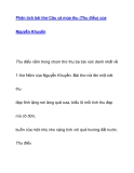 Phân tích bài thơ Câu cá mùa thu