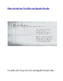 Phân tích bài thơ Thu Điếu của Nguyễn Khuyến