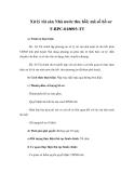 Xử lý tài sản Nhà nước thu hồi; mã số hồ sơ T-BPC-018093-TT