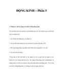 ĐỘNG KINH – Phần 5