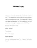 Arteriography