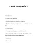 Co thắt tâm vị - Phần 3