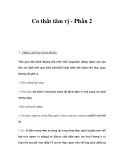 Co thắt tâm vị - Phần 2