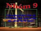 Bài thuyết trình luật kinh tế