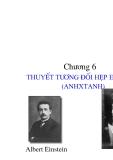Vật lý đại cương - Thuyết tương đối hẹp Einstein phần 1