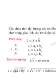 Vật lý đại cương - Đối tượng và phương pháp vật lý phần 2