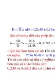 Vật lý đại cương - Đối tượng và phương pháp vật lý phần 3