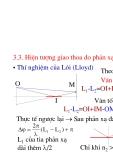 Vật lý đại cương - Quang học sóng phần 2