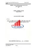 Luận văn: Nâng cao hiệu quả công tác tuyển dụng nhân lực tại công ty xây dựng thương mại Sài Gòn 5