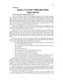 Giáo trình Quản lý tổng hợp vùng ven bờ part 5