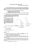 Tính toán áp lực đất