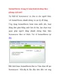 InstantStorm: trang trí màn hình desktop theo phong cách mới
