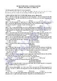 ĐỀ THI TUYỂN SINH CAO ĐẲNG NĂM 2010 Môn thi HOÁ, khối A, B - Mã đề 516