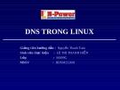 DNS trên LINUX