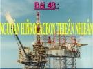 Nguồn Hidrocacbon thiên nhiên
