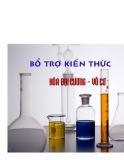 Chuyên đề ôn hóa học - Hóa vô cơ