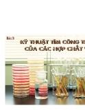 Chuyên đề ôn hóa học - Kỹ thuật tìm công thức của các hợp chất vô cơ