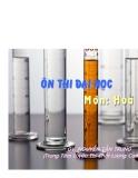 Chuyên đề ôn hóa học - Phương pháp tìm công thức phân tử I