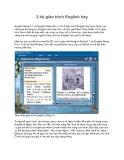 2 bộ giáo trình English hay English Study 4.1 và English Study Pro 1.0 là 2 giáo trình