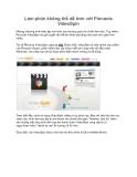 Làm phim không thể dễ hơn với Pinnacle VideoSpin