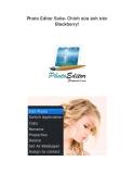 Photo Editor Suite- Chỉnh sửa ảnh trên Blackberry