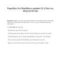 SugarSync for BlackBerry updated 2.0