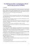 Xác định nguyên nhân và giải pháp hạn chế nứt ống bê tông dự ứng lực