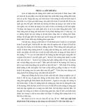 """Tiểu luận kinh tế chính trị: """"Tính quy luật hình thành kinh tế thị trường sự vận dung vao nền kinh tế ở Việt Nam hiện nay """" ."""