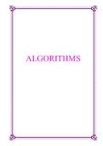 Book: ALGORITHMS