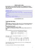 Bài tập về môn hệ điều hành